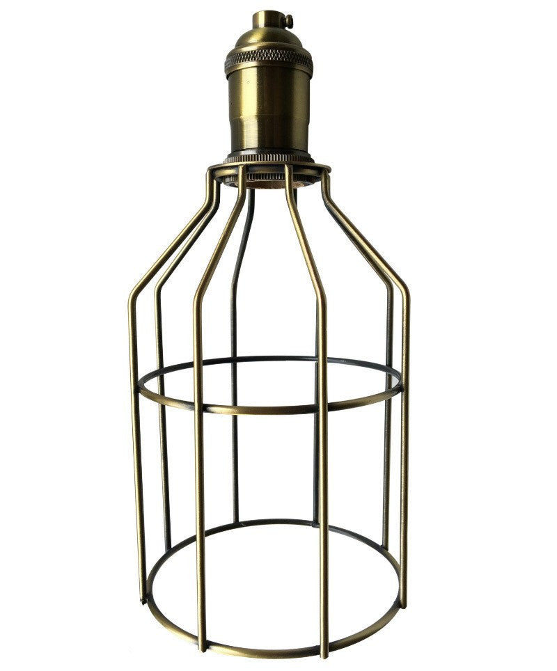 Industrial Bulb Cages for Edison Vintage Light Bulbs and Pendants ...