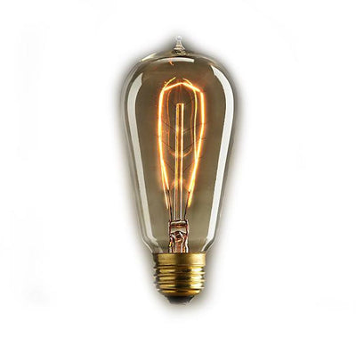 Vintage Edison Hairpin Filament Light Bulb