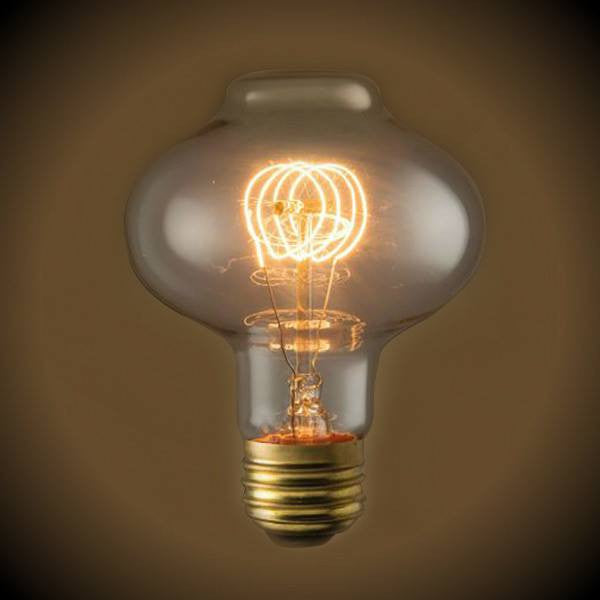Nostalgic Lantern Light Bulb - 40 Watt - 4.50 in. Length