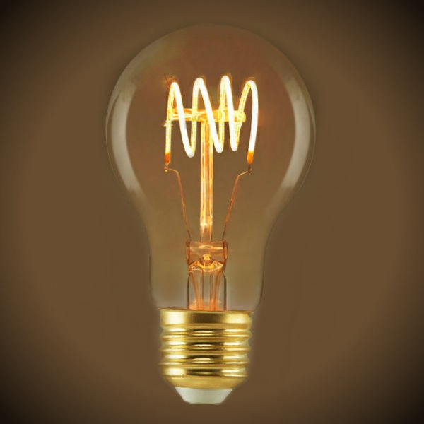 LED Soft Filament Bulb A19 Clear