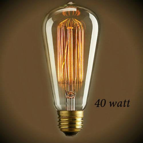 Edison Style - Vintage Antique Bulb 40 Watt - 5.5 in. Length