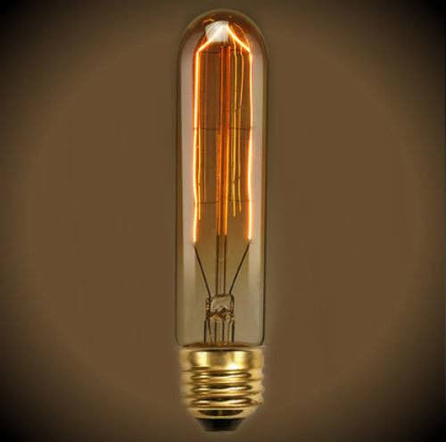 Beacon Tube Nostalgic Light Bulb - 20 Watt - 5.5 in Length - Clear