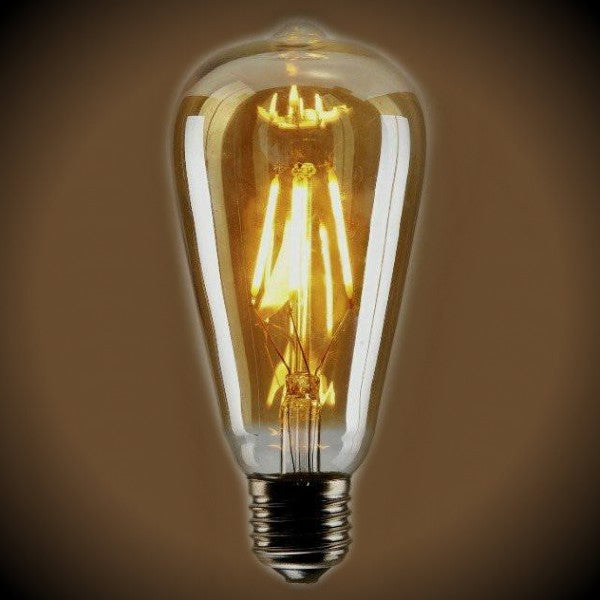 LED Filament ST19 Vintage Bulb - 4.5 Watt - 60 Watt Equal - Dimmable
