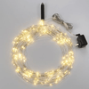 LED Starry Lights Shapeable Silver Wire  10 Strands  - 8 ft. each - AC