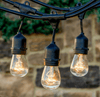 String Patio Lights 48 ft. - 24 Sockets - Commercial Grade