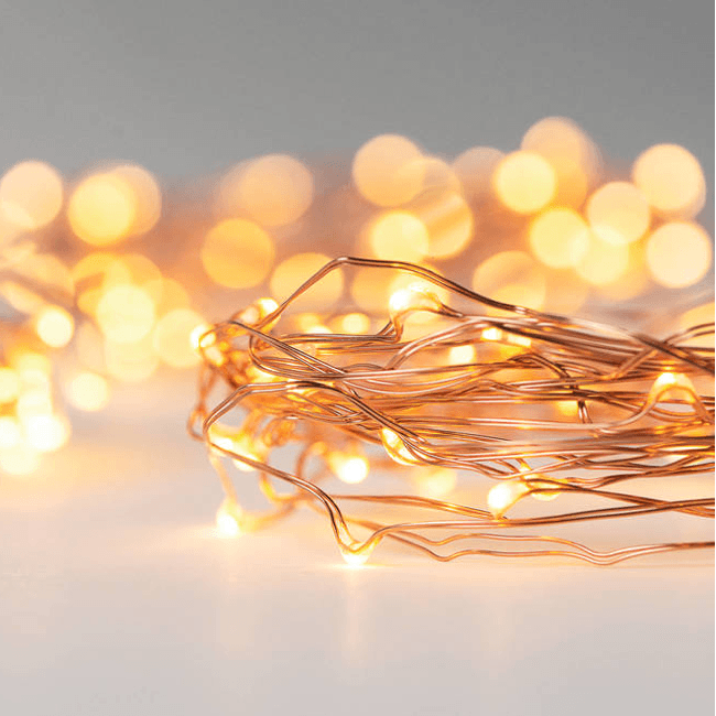 LED Starry Lights Shapeable Copper Wire