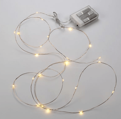 LED Starry Lights Shapeable Copper Wire - 8 ft.- Set of 3