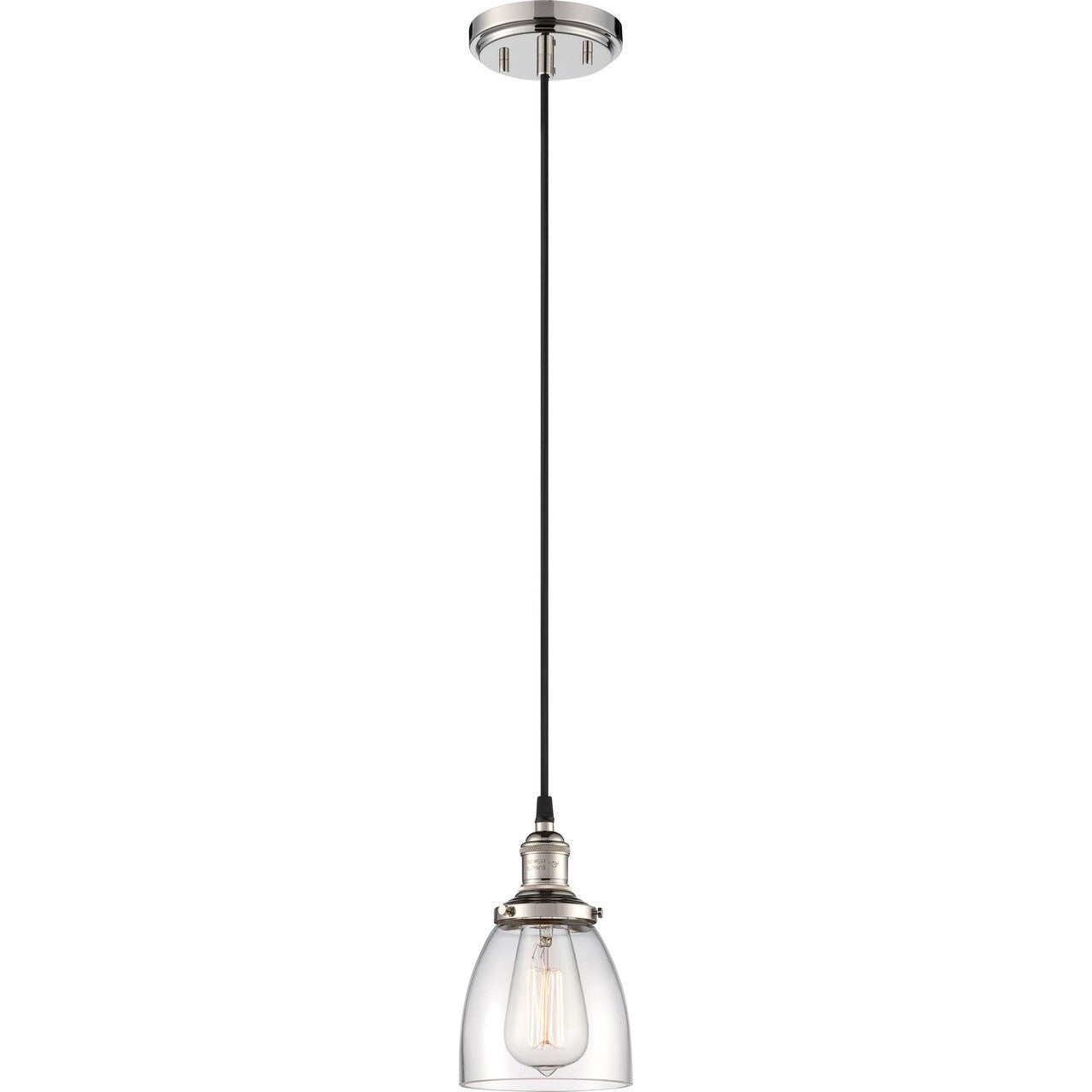 Vintage 1 Light Mini Pendant by Nuvo Lighting