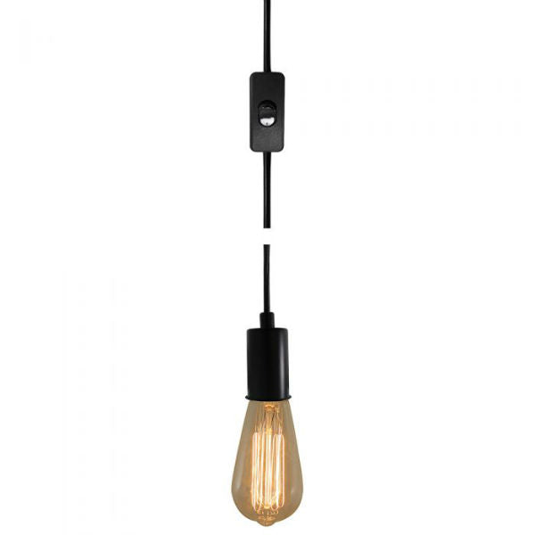 Plug-In Pendant Light - 15 Feet Long
