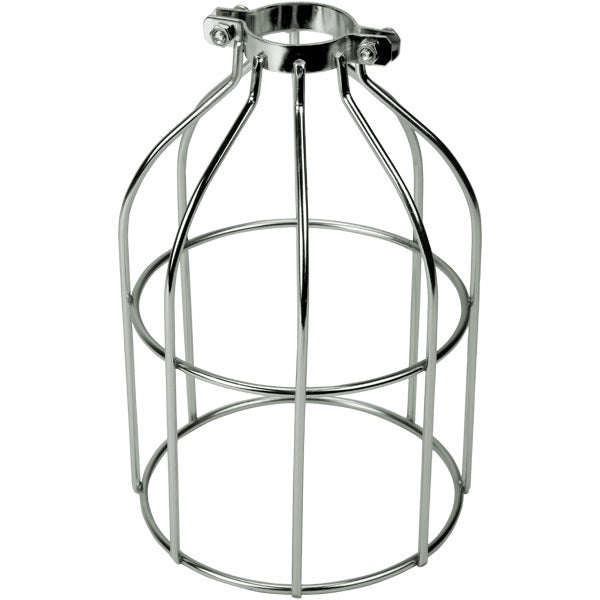 Nickel Open Style Premium Bulb Cage
