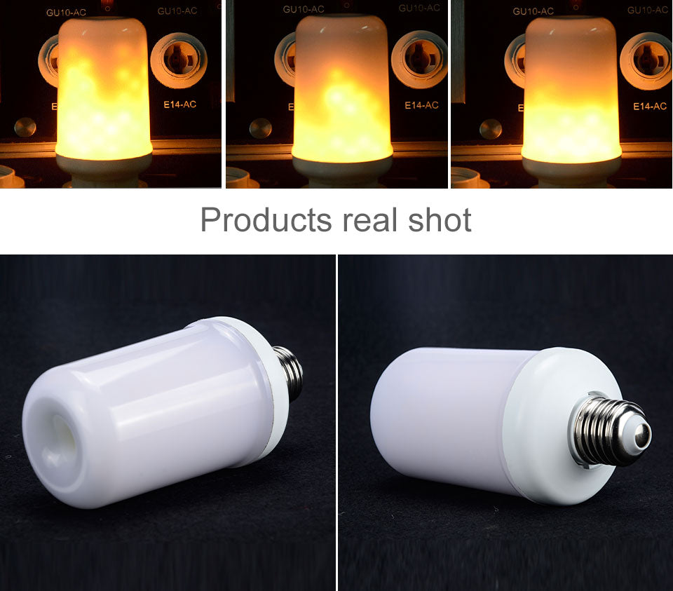 Flame Effect LED Light Bulb