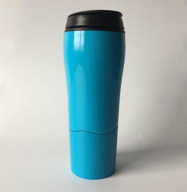Strong Grip Portable Bottle Mug