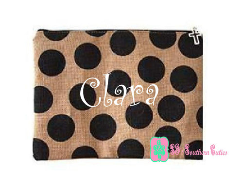 Dotted Personalized Bible Case