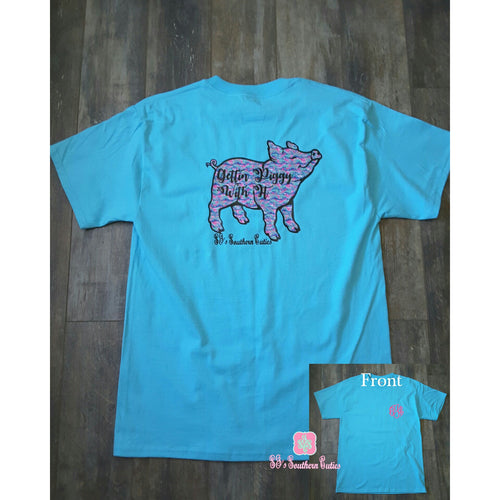 Monogrammed Pig Lilly Shirt