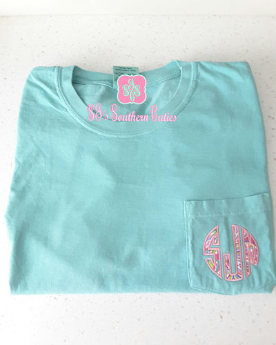 Monogrammed Lilly Pocket Shirt