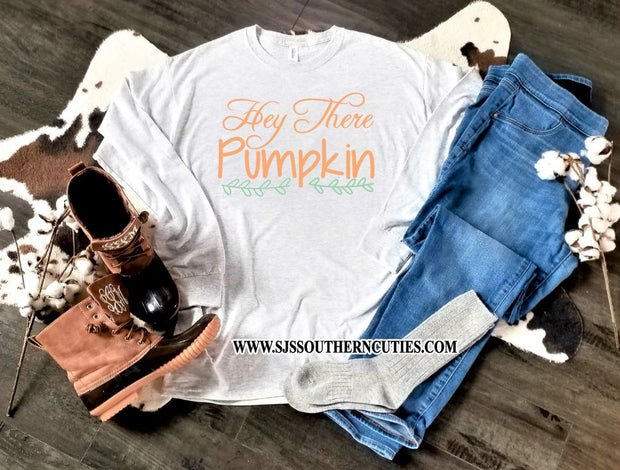Hey There Pumpkin toddler shirt