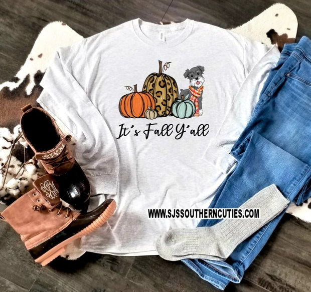 Kid's It's Fall Y'all Shirt