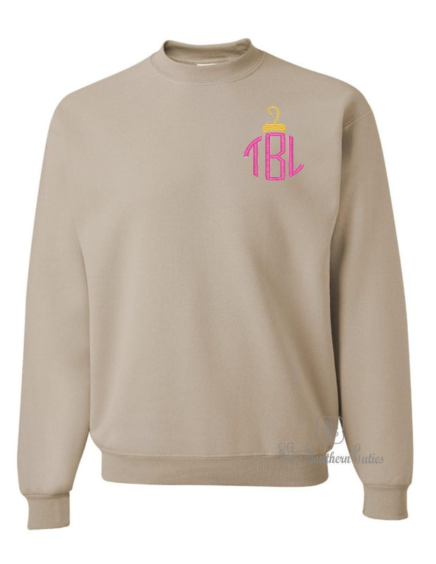 Monogrammed Ornament Sweatshirt
