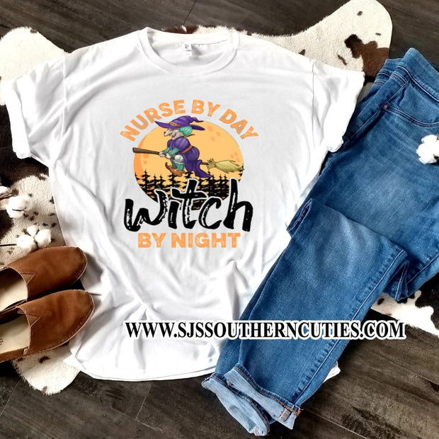 Nurse by Day Witch By Night Shirt