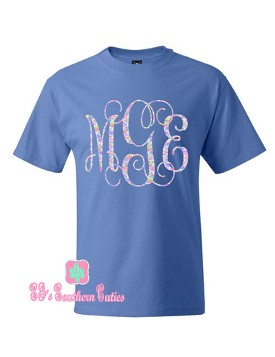 Monogrammed Lilly Shirt