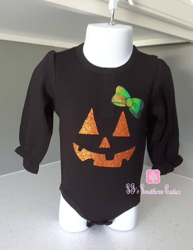 Jack Lantern Long Ruffle Shirt