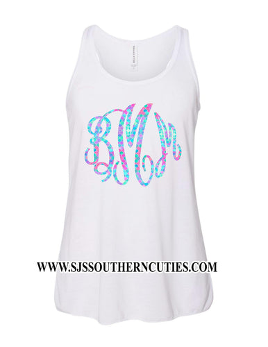 Personalized Girl Tank Top