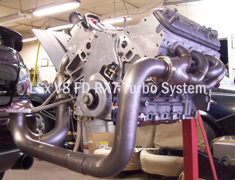 LS Swap Single Turbo Kit FD RX7 1993-97 - Hot Parts Only