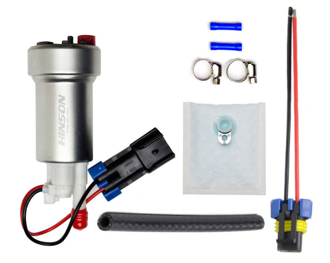 450lph In-Tank E85 Fuel Pump High Pressure Version with Installation Kit