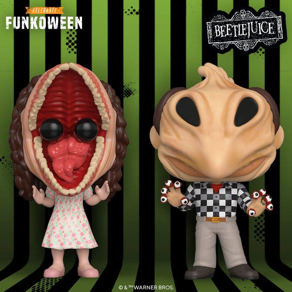 IN STOCK Set of 2 - Beetlejuice Barbara & Adam Transformed