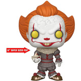 "LARGE Funko Pop Vinyl Figurine Pennywise 10"" IT Chapter 2"