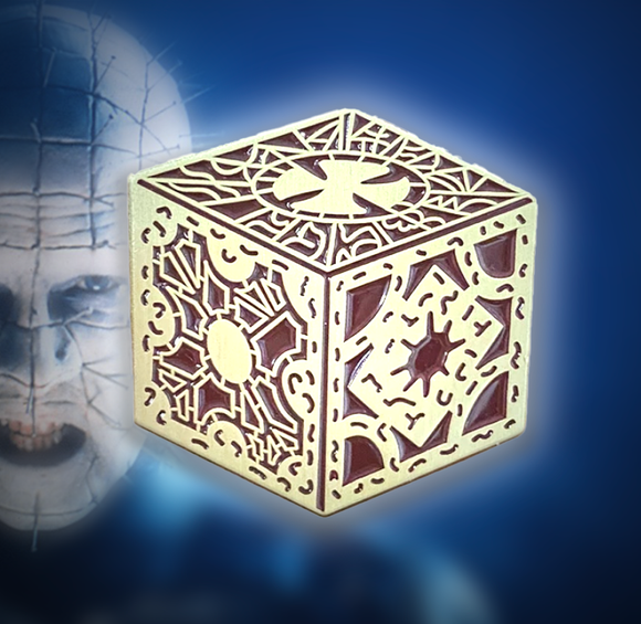 Hellraiser Lament Configuration Puzzle Box Enamel Pin