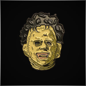 Texas Chainsaw Massacre Leatherface Enamel Pin