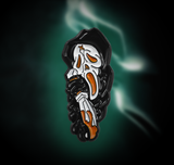 Ghostface Scream Enamel Pin