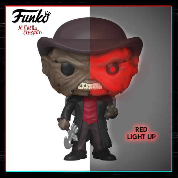 Jeepers Creepers Red Light-Up Funko Pop (Limited)