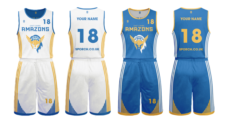 East Camb Amazons Game Reversible Kits