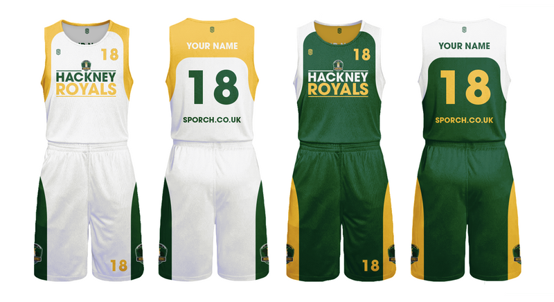 Hackney Royals Game Reversible Kits