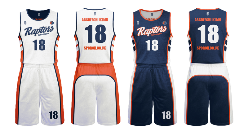 Cambourne Raptors Adult Game Reversible Kits