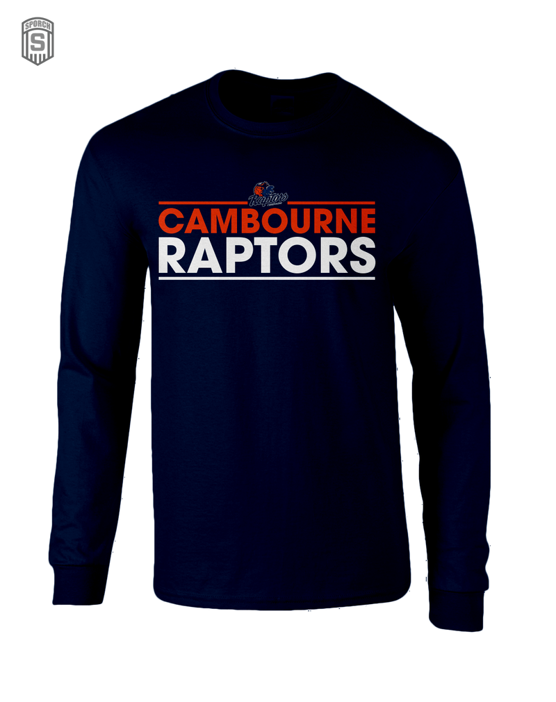 Cambourne Raptors Kids Long Sleeve Shirt