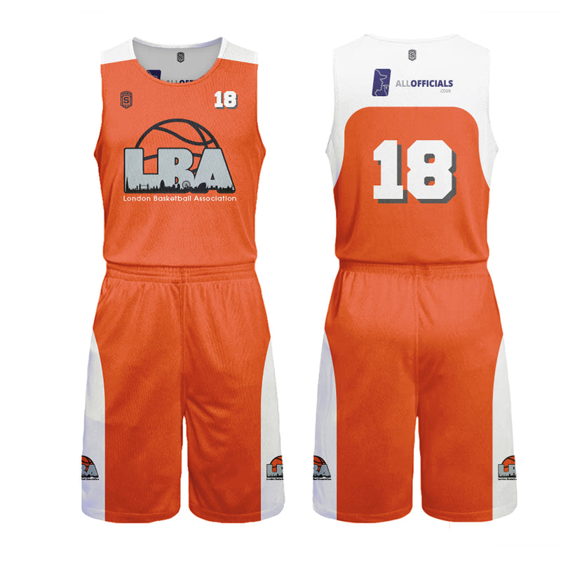 London Basketball Association Reversibles