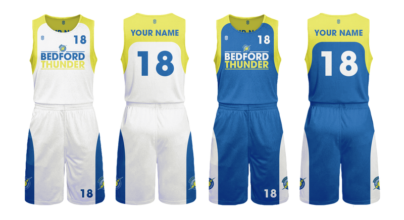 Bedford Thunder Kids Game Reversible Kits