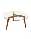 Mesa de Centro Vertu Natural 90 cm Diámetro | Vertu Central Table 90 cm Diameter