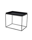 Mesa Lateral Cooper Negra 60 x 40 cm |  Side Table Cooper Black 60x40 cm