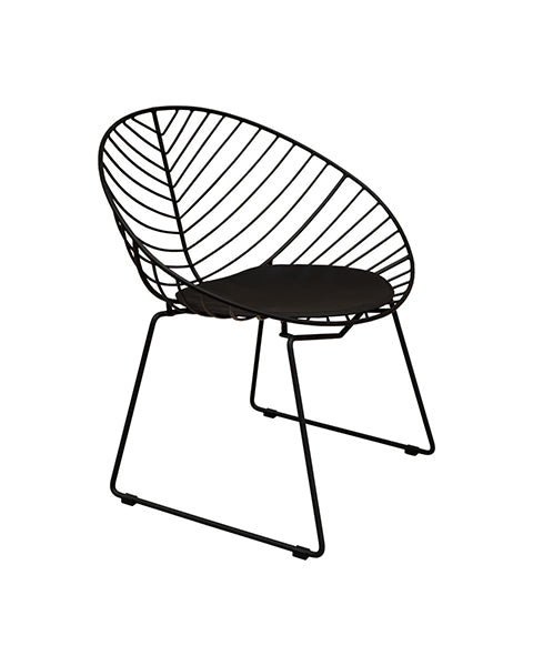Silla Argo Negra | Black Argo Chair