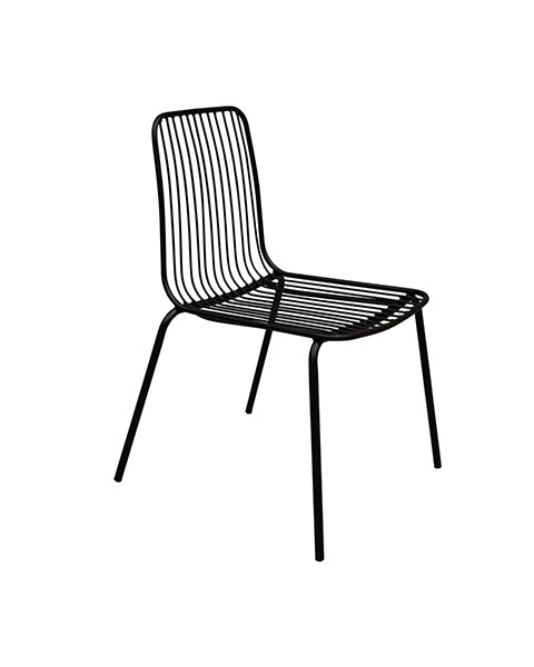 Silla Lina Negra |  Black Lina Chair