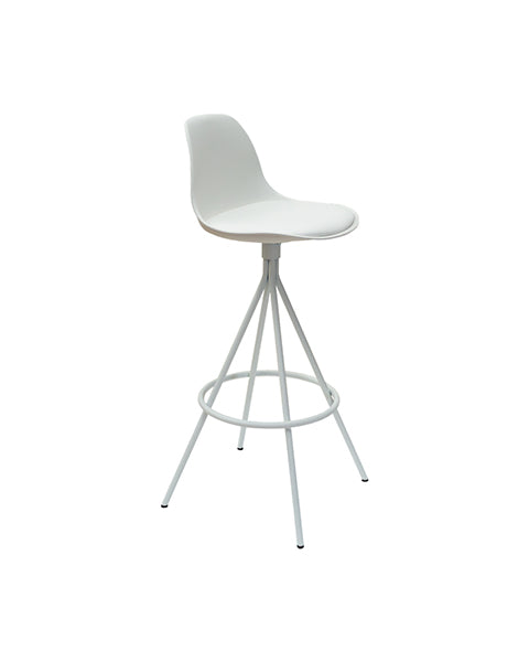 Banco Harp Blanco | White Harp Bar Stool