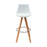 Banco Teran Blanco | White Teran Bar Stool