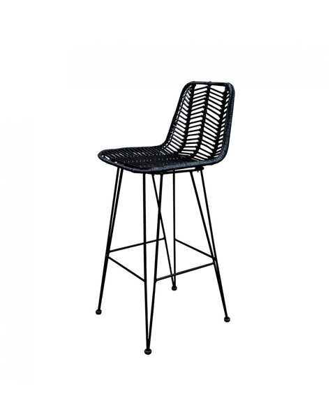 Banco Cary Negro | Black Cary Bar Stool