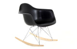 Silla Berlín Niños Mecedora Negra | Chair Berlin Children Rocking Chair Black