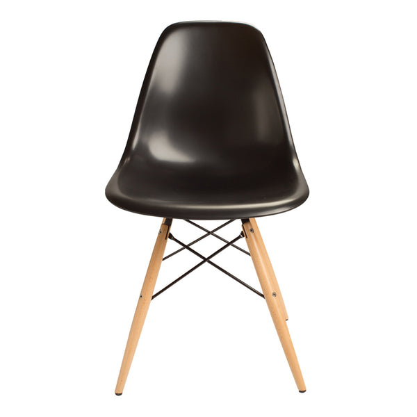 Silla Berlín Pata de Madera Negra |  Berlin Chair Black Wood Leg