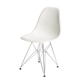 Silla Berlín Pata Metalica Blanca |  Chair Berlin White Metalic Leg